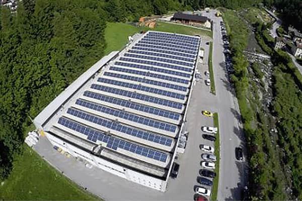 2011 Installazione Fotovoltaico Silcon Plastic - Val di Zoldo
